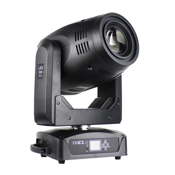 BY-9200R BSW 200W Beam Spot Wash LED Moving Head Light