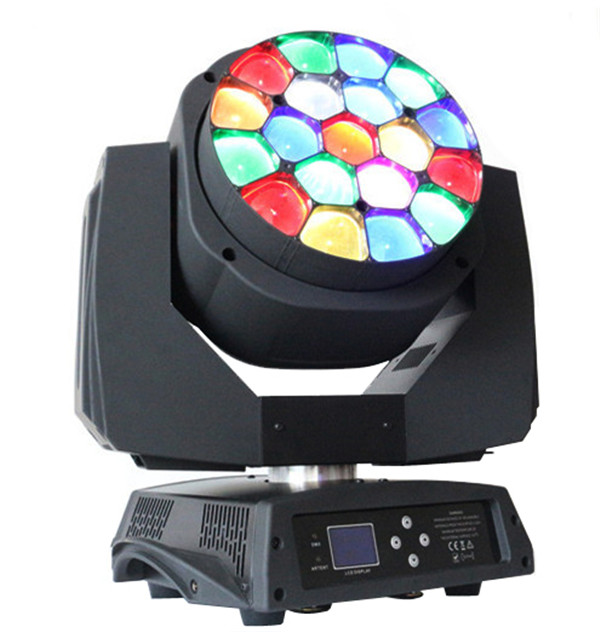 BY-919A 19X15W RGBW 4in1 Beam Bee Eye LED Moving Head Light