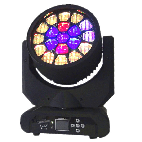 BY-919B 19X12W RGBW 4in1 Beam Bee Eye LED Moving Head Light