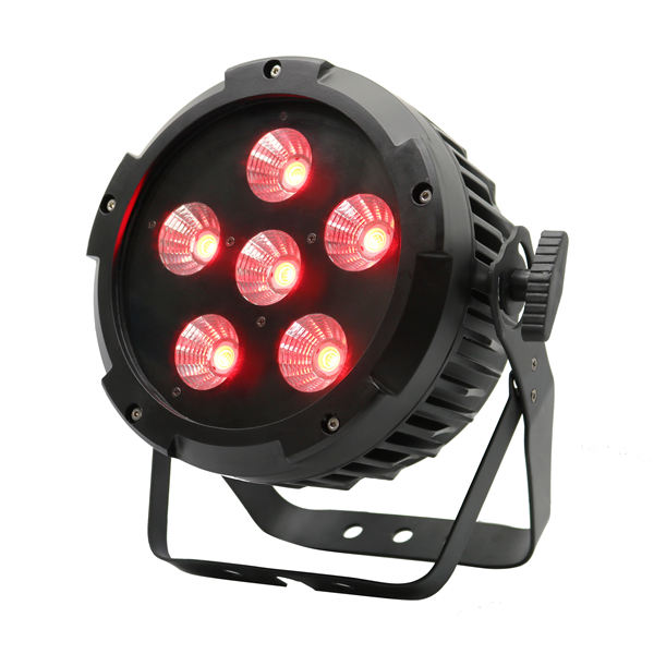 BY-3106 6X20W RGB 3in1 COB LED PAR Llight (outdoor version optional)