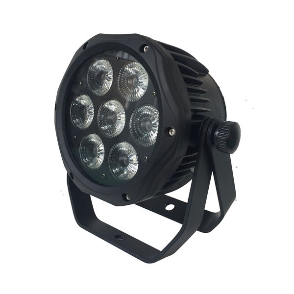 BY-4107P IP65 waterproof outdoor 7pcs 4in1/5in1/6in1 LED PAR Light
