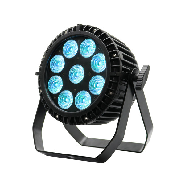 BY-849A IP65 9pcs 4in1/5in1/6in1 LED outdoor waterproof wireless battery powered uplights
