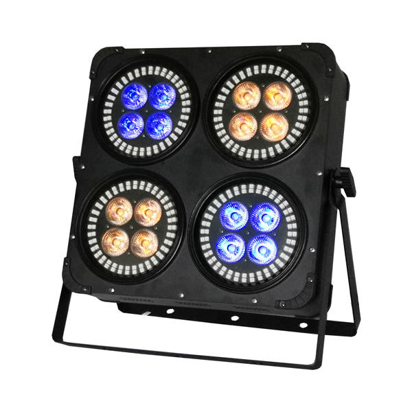BY-6316B 4 Heads 16X12W 6in1 LED+288X0.2W RGB 3in1 LED Wash Light