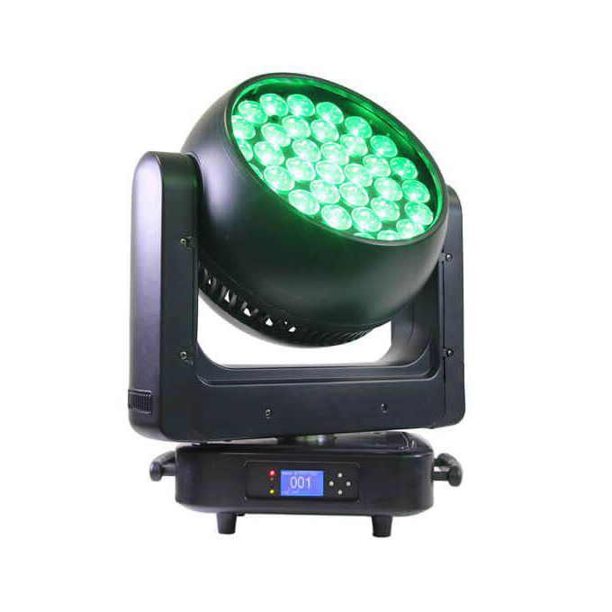 BY-3725Z 37X25W RGBW 4in1 LED Zoom Moving Head Light - 副本